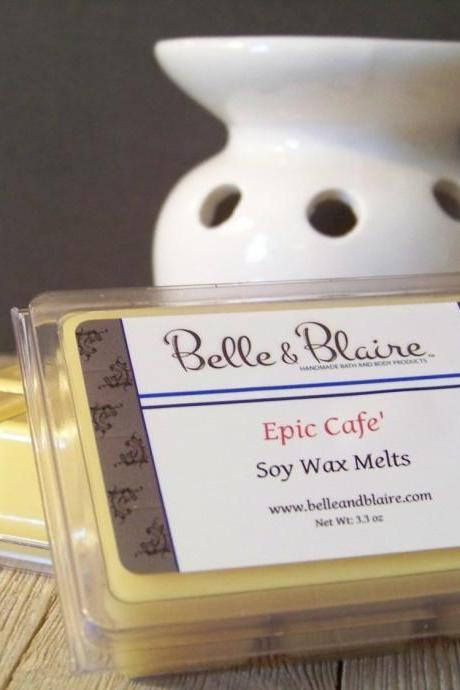 Epic Cafe'- Soy Tarts- Coffee Candle Melts- Scented Wax Melts