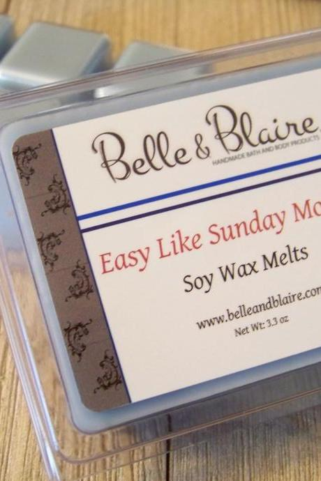 Easy Like Sunday Morning- Soy Tarts- Scented Wax Melts- Gift For Women