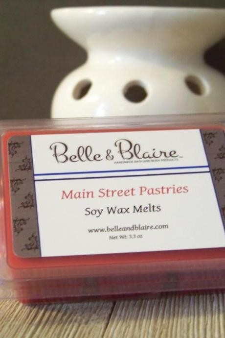 Main Street Pastries- Soy Tarts- Scented Wax Melts